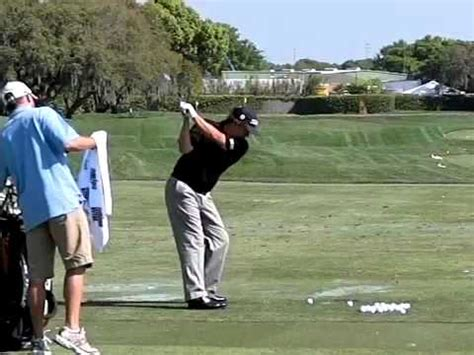 golf swing lines jason dufner golf swing from down the line youtube