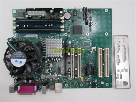 Ram Cpu Pentium 4 intel d915gev motherboard c63667 504 pentium 4 3 00ghz cpu 1gb ram hsf i o