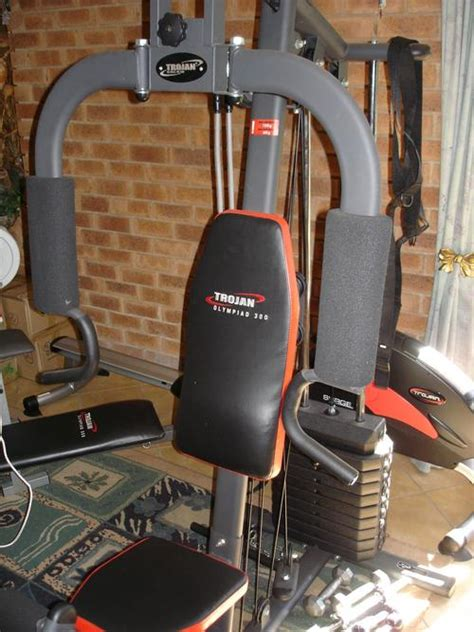 exercise equipment trojan olympiad 300 homegym with