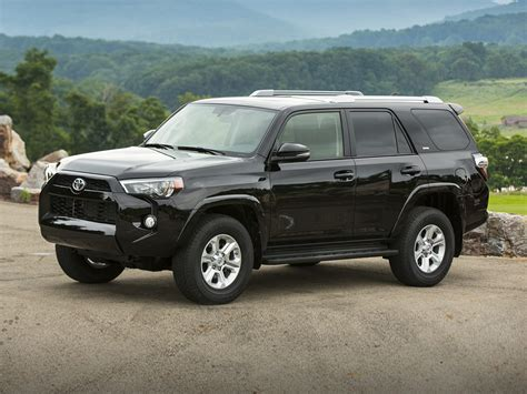 suv toyota 4runner new 2018 toyota 4runner price photos reviews safety