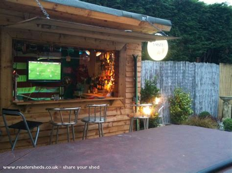 The Backyard Bistro by Classic Bar Shed Tiki Bars And Bar Sheds