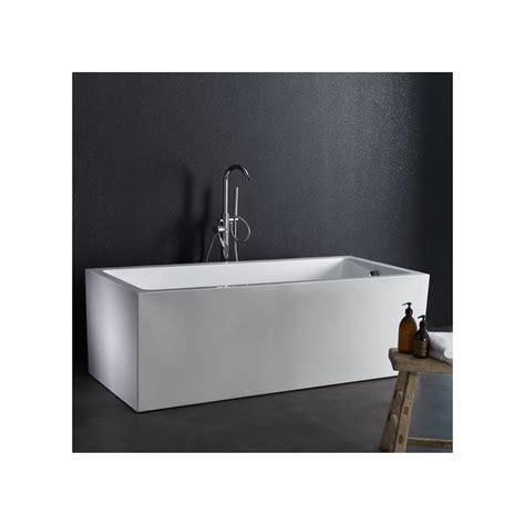 baignoire rectangulaire baignoire rectangulaire ilot design pas cher planetebain