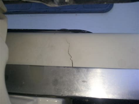 boat transom cracks hs 2390 cracked transom the hull truth boating and