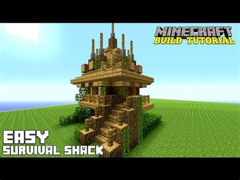 how to build a small house minecraft how to build a small survival house tutorial