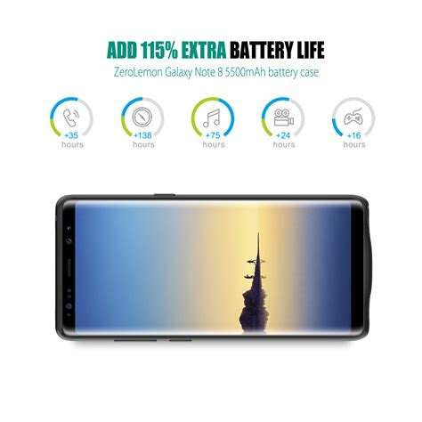 Samsung Original Protective Casing Galaxy Note 8 zerolemon s new 10 000mah adds 48hrs juice to