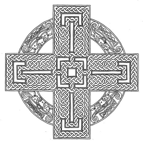 cross mandala coloring pages celtic cross coloring page coloring home