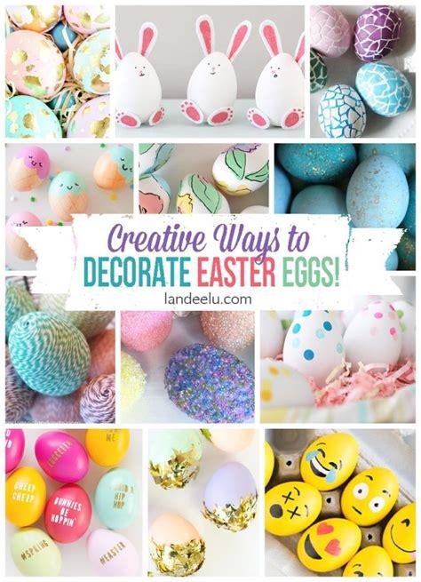 easter egg designs creative easter egg designs landeelu