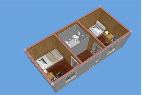 40ft container house plans wooden home