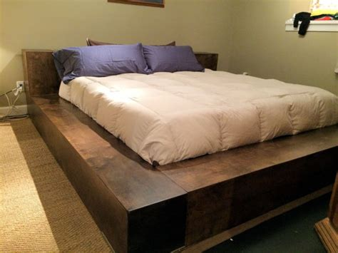 Custom Platform Bed Donnelly Atlanta Custom Platform Bed W Covert Gunsafe
