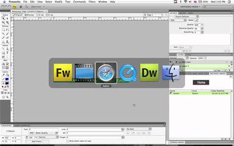 dreamweaver tutorial navigation bar fireworks and dreamweaver making a navigation bar youtube