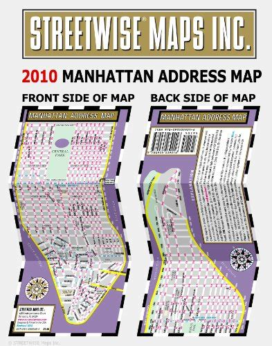 streetwise manhattan map laminated city center map of manhattan new york michelin streetwise maps books streetwise manhattan address map laminated address