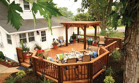 Diy Backyard Deck Ideas by Archadeck Karnes