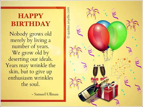 Inspirational Quotes For A Friend On Birthday Inspirational Birthday Quotes Quotes And Sayings