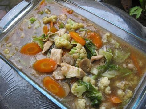 cara membuat capcay sayur goreng resep capcay sederhana goreng seafood