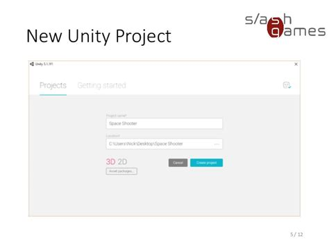 unity project layout school for games 2015 unity engine basics