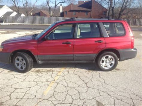 old car manuals online 2003 subaru forester auto manual buy used 2003 subaru forester x wagon 4 door 2 5l no reserve manual in southton