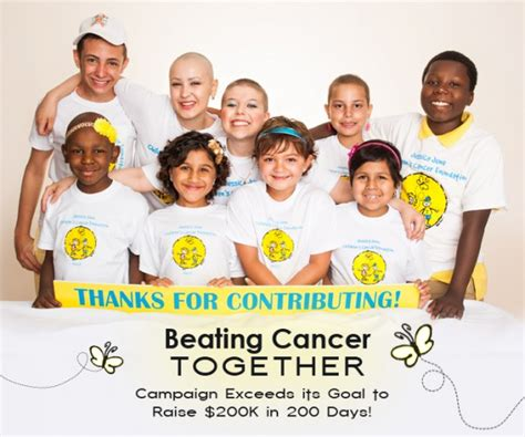 Muvdi Mba President Ceo June Children S Cancer Foundation by Beating Cancer Together Caign Succeeds January 2015