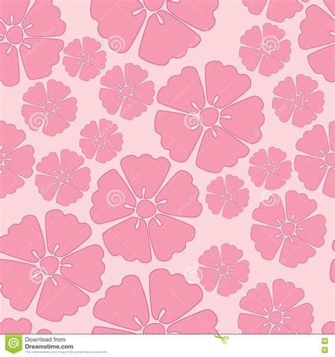 pattern over background cherry blossom sakura seamless pattern background stock