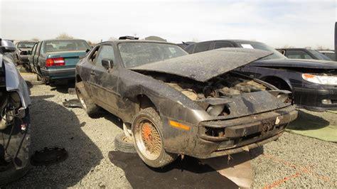 porsche junk yards junkyard find 1983 porsche 944