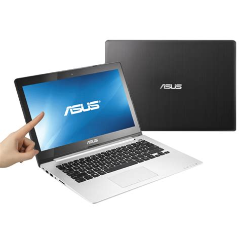 Laptop Asus Touchscreen I5 asus vivobook 13 3 quot touchscreen laptop intel i5 3317u 500gb hdd 4gb ram