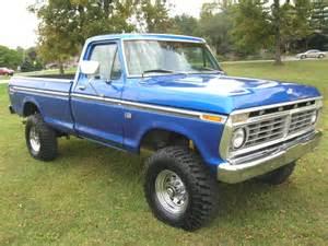 Ford High Boy 1975 F250 Highboy Blue