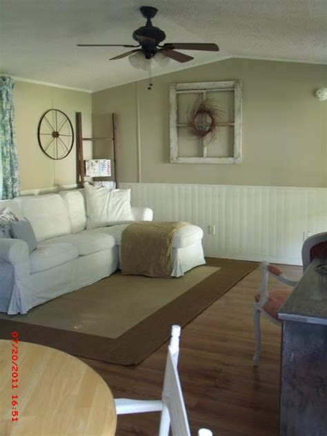 mobile home living room momma hen s beautiful single wide makeover