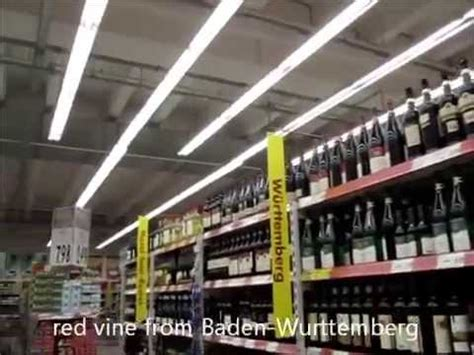 sectioning an alcoholic germany alcohol section in a german supermarket youtube