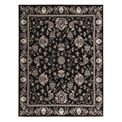 home depot area rugs 10 x 12 home decorators collection jackson black 10 ft x 12 ft 11 in area rug 509453 the home depot