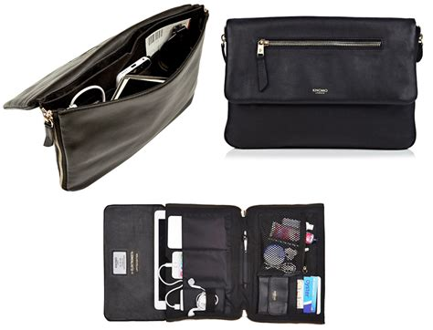 Knomo Travel Wallet With Ipod Pocket by Here S The Ultimate Charging Clutch For The Gadget Loving