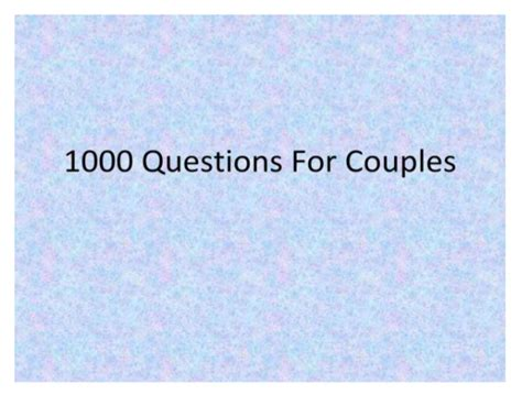 Or Questions For Couples Questions For Couples Getting Married