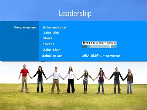 Mba Leadership And Change St Scholastica by Leadership Presntation By Muhammad Ullah