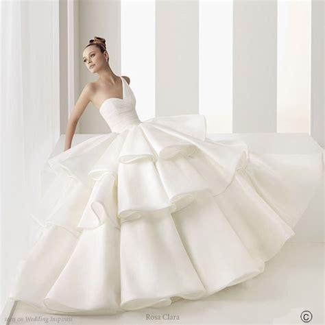 pretty wedding dresses beautiful wedding gowns by rosa clara wedding inspirasi