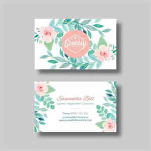 scentsy business card ideas scentsy business card floral 2 0 digital design by