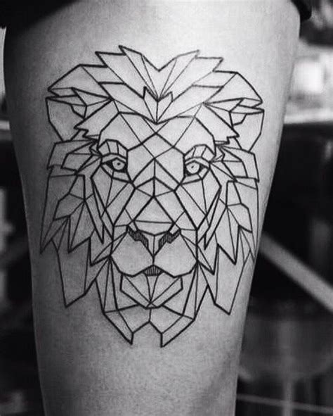 geometric animal tattoo designs 99 best images about tats on pinterest lion tattoo