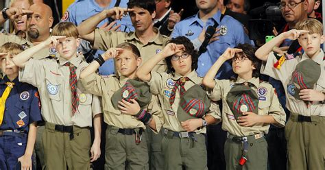 Boy Scout boy scouts of america announces plans to let join