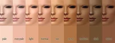 skin tone chart for all skin tones skin renews anti