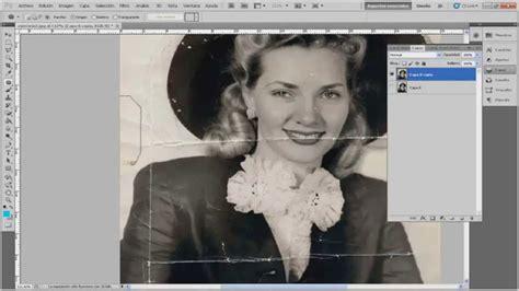 fotos antiguas para restaurar photoshop restaurar foto antigua por completo youtube