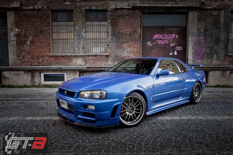 nissan skyline r34 paul walker paul walker s r34 nissan skyline gt r for sale at