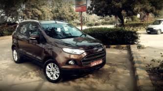 Ford Ecosport Review 2016 Ford Ecosport Review Price In India