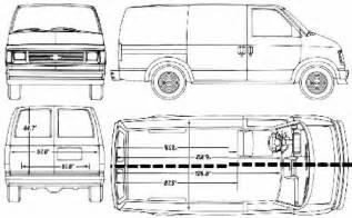 chevy express interior height chevy express cargo