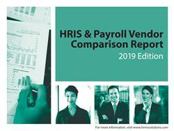 Hrms Solutions 2019 Hris Amp Payroll Vendor Comparison
