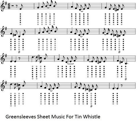 house music chart 78 best whistle flute music images on pinterest tin