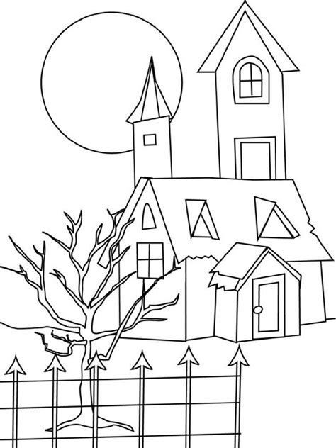 monster house coloring pages az coloring pages