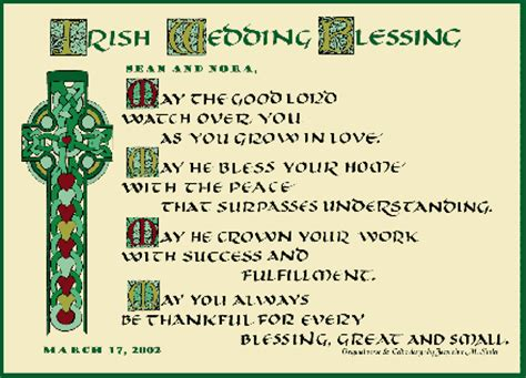 Wedding Blessing Dublin by Traditional Weddings Wedding Traditions