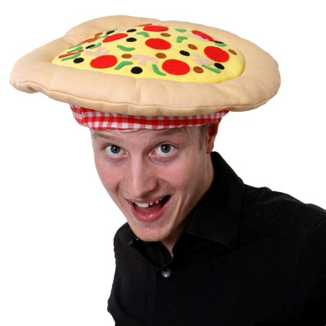 Pizza Hat by Novelty Pizza Hat