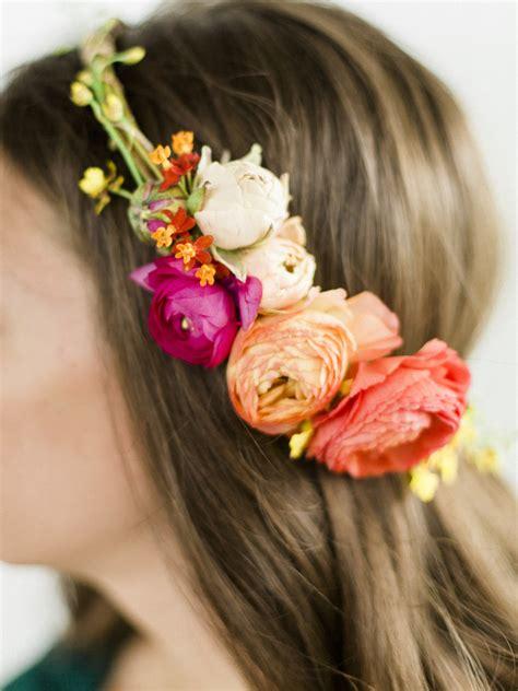 flower headband hair ideas faq my hair diy coachella inspired diy flower crowns