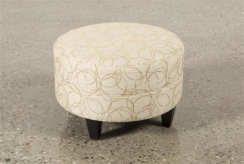large round fabric ottoman adler fabric small round ottoman living spaces