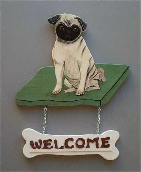 pug sign brandydesigns fawn pug