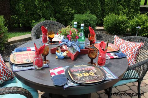 Backyard Bbq Tablescapes 5 Labor Day Theme Ideas