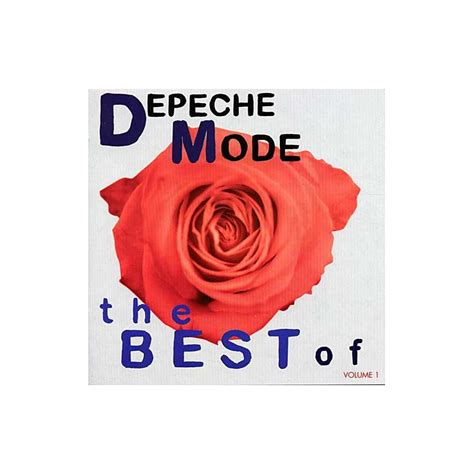 the best of depeche mode depeche mode the best of volume 1 cd dvd depeche